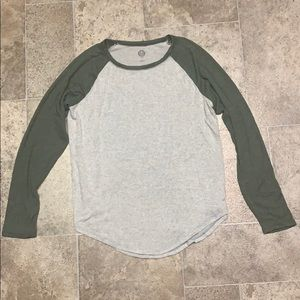 SO Long Sleeve Baseball Style Tee